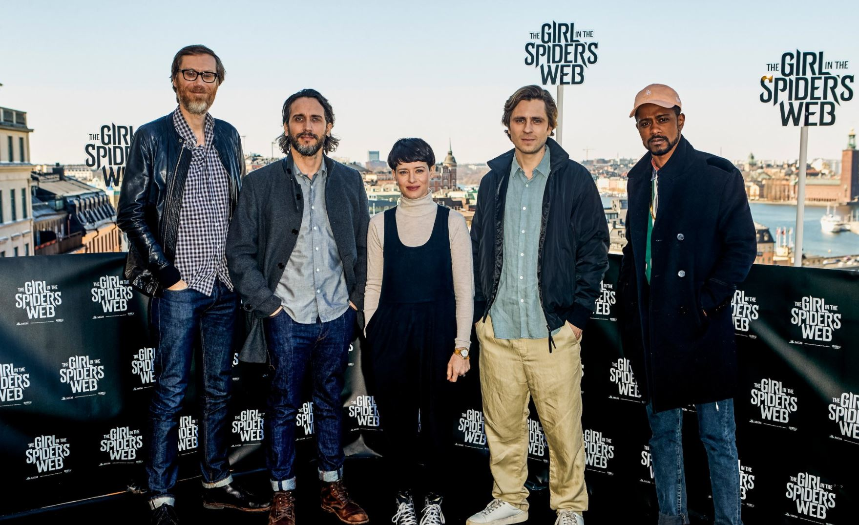 FIRST LOOK AT 'THE GIRL IN THE SPIDER'S WEB' CAST