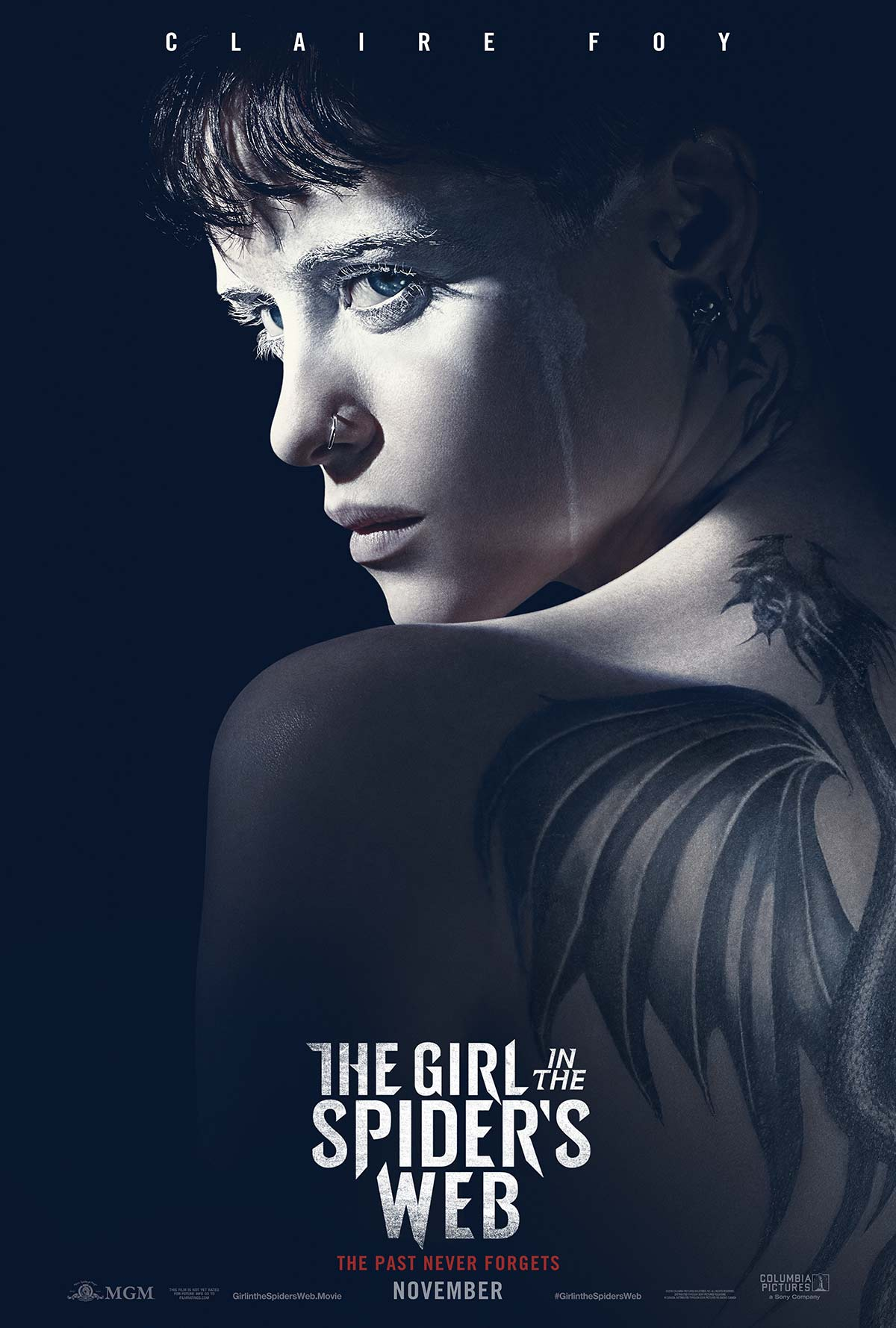 THE GIRL IN THE SPIDER'S WEB HITS THEATRES IN 2018